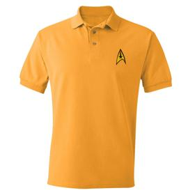Star Trek Starfleet Gold Polo