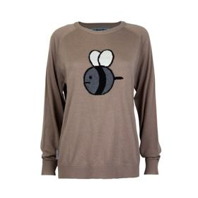 Bee And PuppyCat Cashmere Intersia Bee Sweater