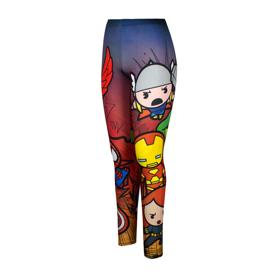 Marvel Chibi Avengers Leggings