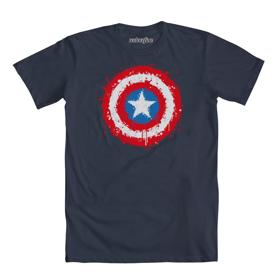 Marvel Captain America Splatter