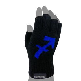 Homestuck Equius Knit Fingerless Gloves