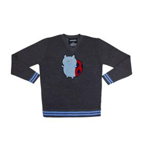 Bravest Warriors Catbug Chenille Patch Knitted Sweater