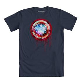 Marvel Painted Shield Drip
