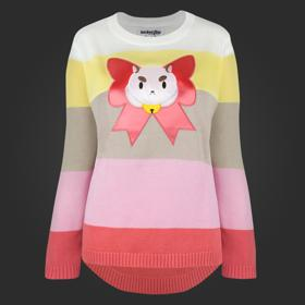 Bee And PuppyCat PuppyCat Patch Sweater