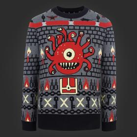 Dungeons & Dragons Beholder Knit Sweater