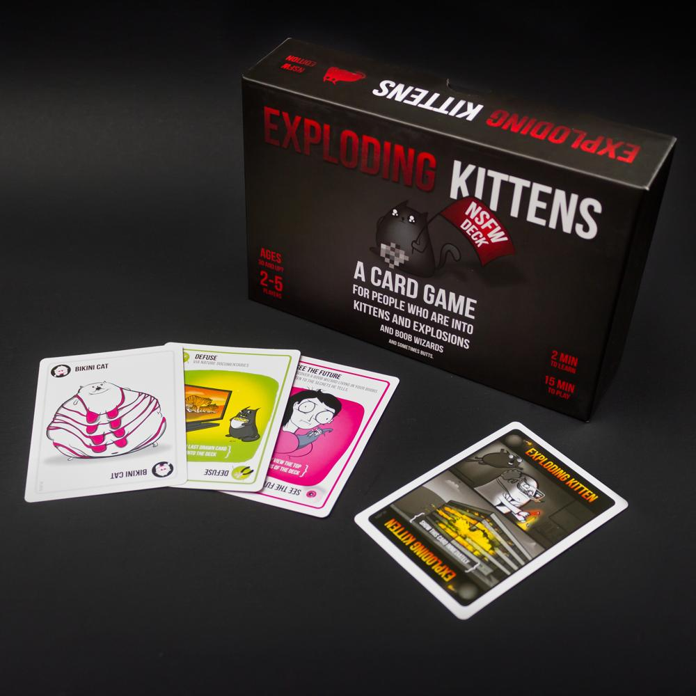 exploding kittens nsfw how to play