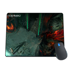 Abbadon God Statue Mousepad
