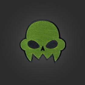 Homestuck Jake English Green Skull Patch