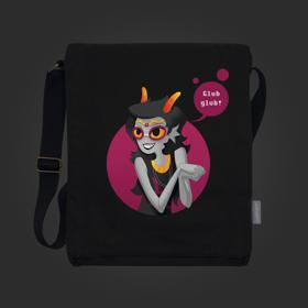 Homestuck Glub Glub Vertical Messenger Bag