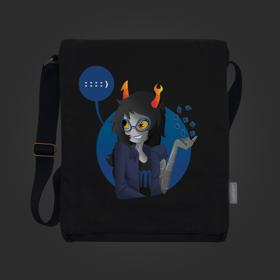 Homestuck Arachnidsgrip Vertical Messenger Bag