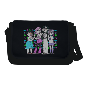 Homestuck SBurb Girls Messenger Flap