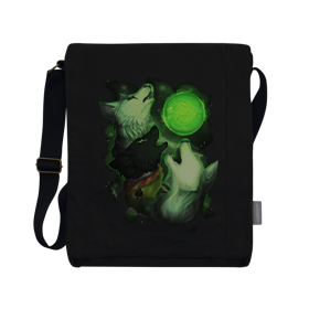 Homestuck Three Dog Sun Vertical Bag