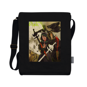 Homestuck Dogfight Vertical Messenger Bag