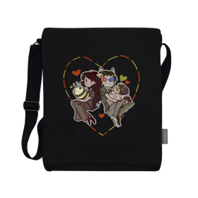 Homestuck Buzzy Bahs Vertical Messenger Bag