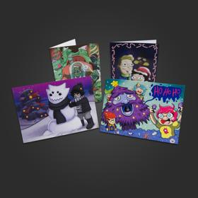 Homestuck Holiday Greeting Cards