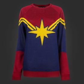 Marvel Captain Marvel Knit Sweater