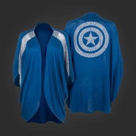 Marvel Captain America Dolman Shrug