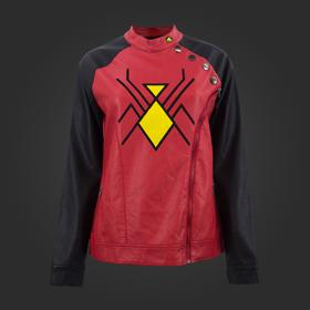 Marvel Spider-Woman Sidezip Moto