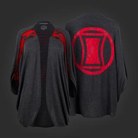 Marvel Black Widow Dolman Shrug