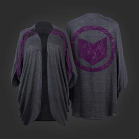 Marvel Hawkeye Dolman Shrug
