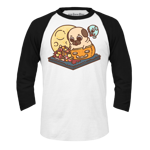 Puglie Fall Baseball Tee