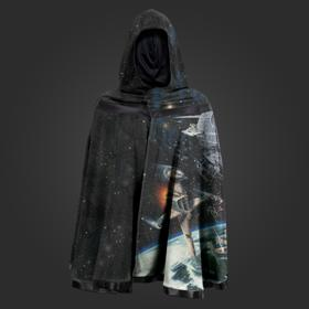Star Wars Galaxy Reversible Hooded Cape