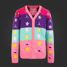 Steven Universe Gems and Stars Cardigan